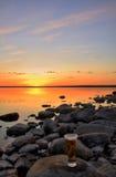 piwny słońca Zdjęcie Stock