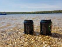 Piwny słońce przeciek Zdjęcie Stock