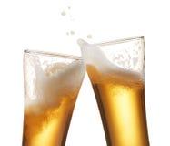 Piwny wznosić toast Obraz Stock
