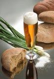 piwo chleb Obraz Royalty Free