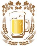 Piwo i chmiel ilustracji
