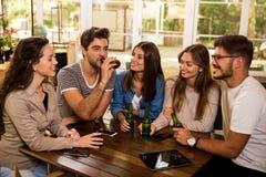 Piwo jest zawsze dobrym pomys?em zdjęcia royalty free
