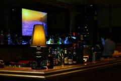 Piwo na barze w pubie Fotografia Stock
