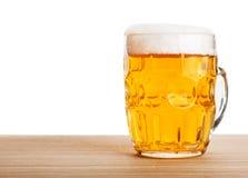 piwo odizolowywający kubek Obraz Stock