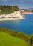 Piwo plażowy Devon Obrazy Royalty Free