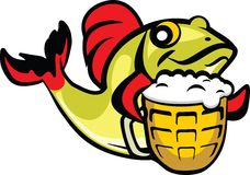 piwo ryba Zdjęcia Stock