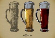 Piwo set Zdjęcie Royalty Free