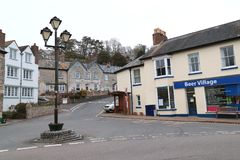 Piwo w Devon fotografia royalty free