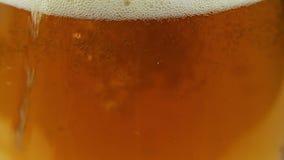 Piwu Nalewają wewnątrz szkło 5 zbiory wideo