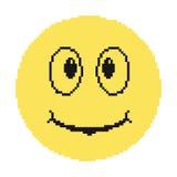 Pixéis do smiley Foto de Stock Royalty Free
