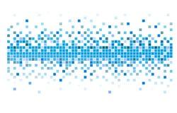Pixéis do vetor Imagem de Stock