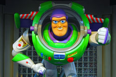 Pixar buzz lightyear. Buzz lightyear statue at Disneyland, hong kong Stock Photos