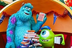Pixar χαρακτήρες τεράτων της Disney Στοκ εικόνα με δικαίωμα ελεύθερης χρήσης