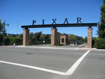 Pixar Studios Entrance Gate royalty free stock photos
