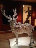 PixCell Jelenia rzeźba Kohei Nawa w Wielkomiejskim muzeum sztuki fotografia royalty free