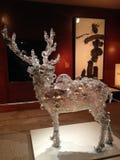 PixCell Jelenia rzeźba Kohei Nawa w Wielkomiejskim muzeum sztuki zdjęcia stock