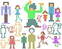 Pixel; illustrazione vettoriale