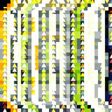 Pixel abstract geometrisch patroon Stock Foto