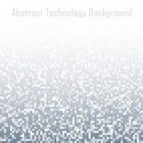 Pixel Abstract Gray Technology Gradient Background Het ontwerpachtergrond van het bedrijfsmozaïek lichte mozaïek met ontbrekende  stock illustratie