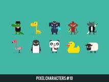 Pixel Animals Stock Photos