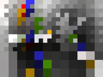 A pixel art abstract background Royalty Free Stock Photos