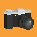 Pixel art camera Stock Images