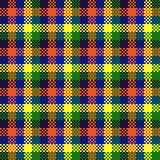 Pixel art design, seamless pattern Royalty Free Stock Image