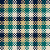 Pixel art design, seamless pattern Stock Photos