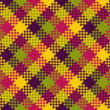 Pixel art design, seamless pattern Stock Images