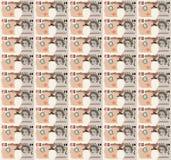 Pixel Art Dollar Bill background Royalty Free Stock Photos