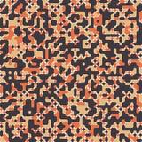 Pixel Art Elements del diseño ilustración del vector