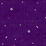 Pixel art space sky vector seamless pattern Stock Photography
