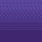 Pixel art style purple gradient vector background Royalty Free Stock Photo