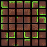 Pixel Art Tiles Photos stock