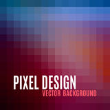Pixel Background. Pixel design. Abstract vector background Stock Images