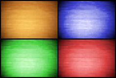 Pixel backgrounds Stock Photography