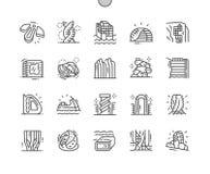 Pixel Bien-ouvré future par architecture parfait illustration libre de droits