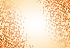 Pixel bruine achtergrond Stock Afbeelding