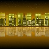Pixel building stock illustration