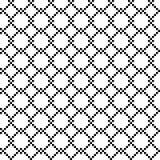 PIXEL bundit frencefält royaltyfri illustrationer