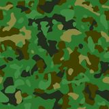 Pixel camo. Seamless digital camouflage pattern. Military texture. Brown desert color royalty free illustration