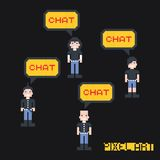 Pixel character Stock Images