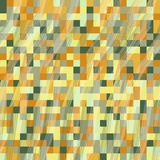 Pixel cubes. Seamless pattern for wallpaper, web page background Royalty Free Stock Images