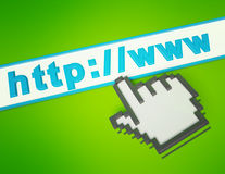 Pixel cursor. On the link Stock Photos