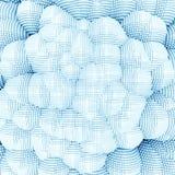 Pixel depth wallpaper Stock Images