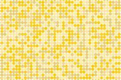 Pixel digital gradient background. Abstract  technology pattern. Dotted background with circles, dots, point small scale Stock Photography