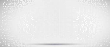 Pixel on digital screen Stock Image