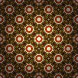 Pixel flowers Royalty Free Stock Image