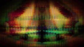 Pixel futuristici 10476 della visualizzazione fotografia stock libera da diritti