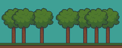 Pixel Game Background Stock Images